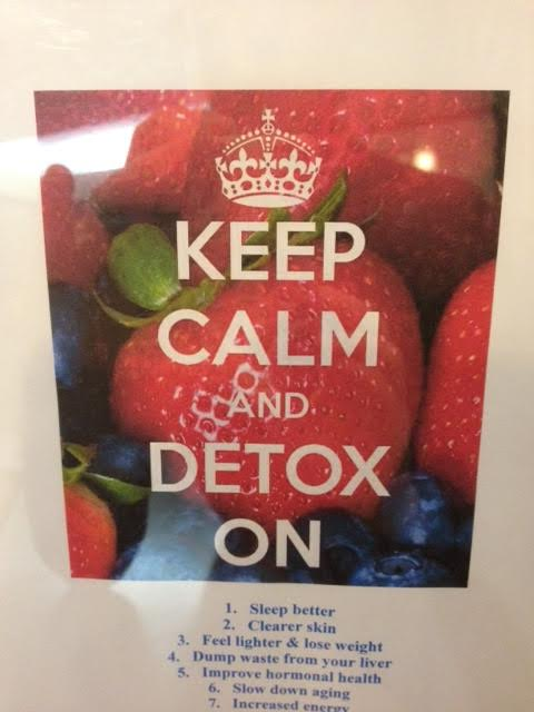 Keep Calm and Detox On