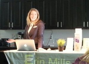 mississauga naturopath Tiffany presenting on Spring health strategies