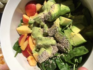 naturopathic foodie salad