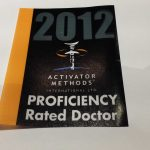Activator Proficiency Rated Doctor 2012 Dr. Peever