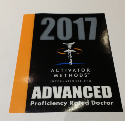 Activator Advanced Proficiency Rated Doctor 2017 Dr. Peever