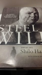 Steel Will Book Cover by Shilo Harris