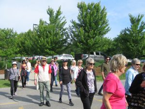 Group picture June 2018 Herb Walk in Mississauga