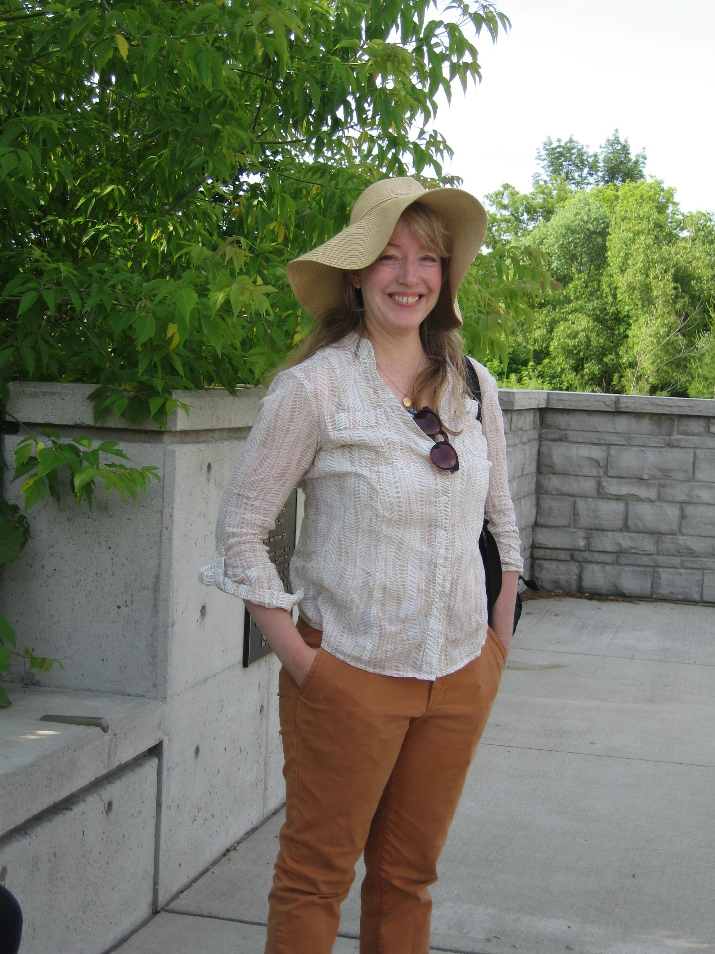 Tiffany Wyse photo for herb walk in Mississauga