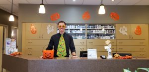 Dr. Peever Halloween Erin Mills Optimum Health in Mississauga